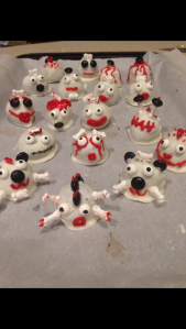Cake pop critters