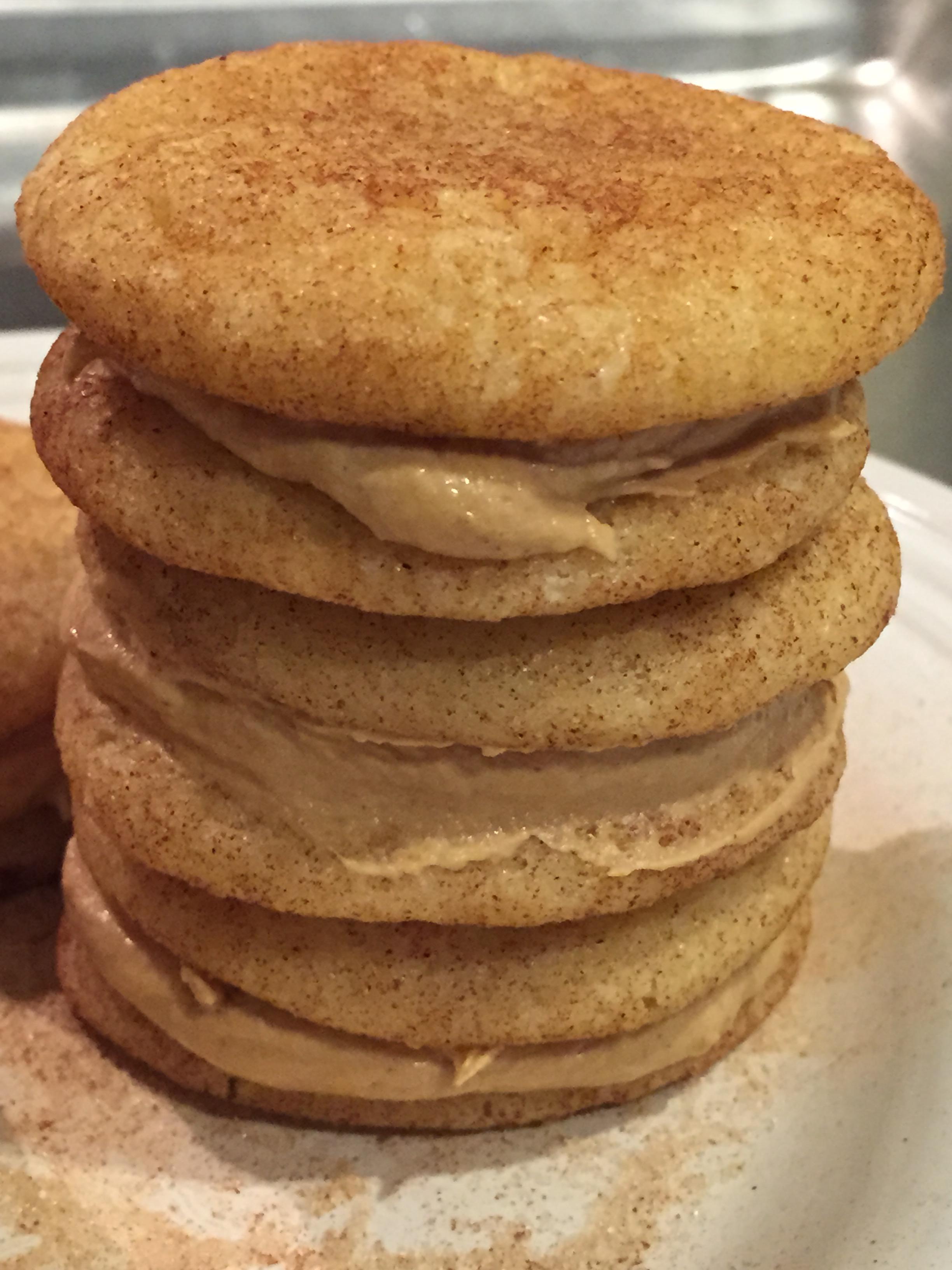 Snickerdoodle & Biscoff Cream Sandwich Cookies ...