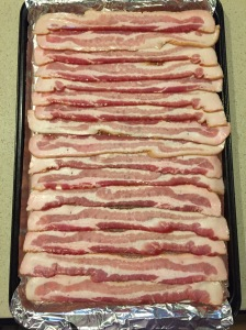 unbaked bacon
