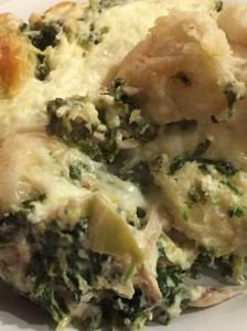 Spinach bake