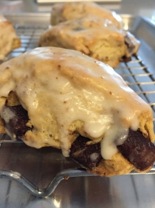 Brown Butter Choc Chunk Scones