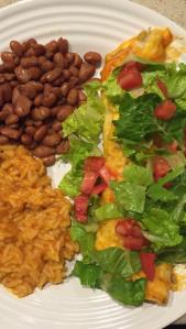 Beef & Cheese Enchiladas