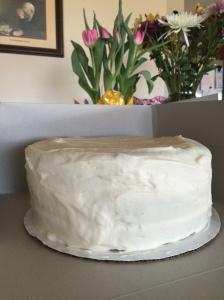 Zucchini Cake w Lemon Cream Cheese Frosting