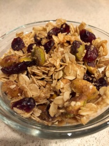 Pistachio & Cranberry Granola