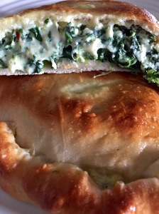 Ricotta Cheese & Spinach Calzones