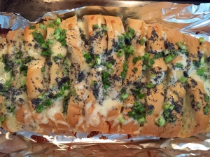 Cheesy poppy seed bread