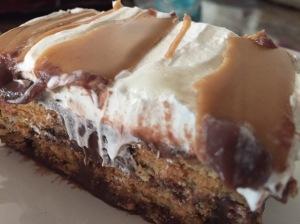 No Bake Choc & PB Ice Box Cake