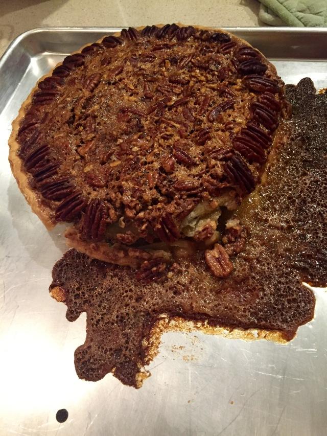 Flop pecan pie