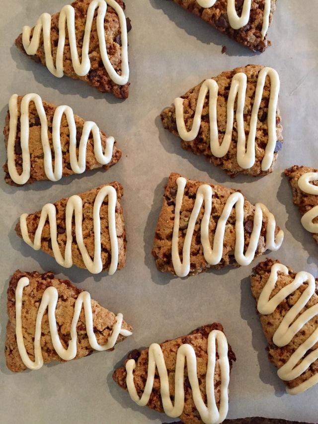 toffee-scones