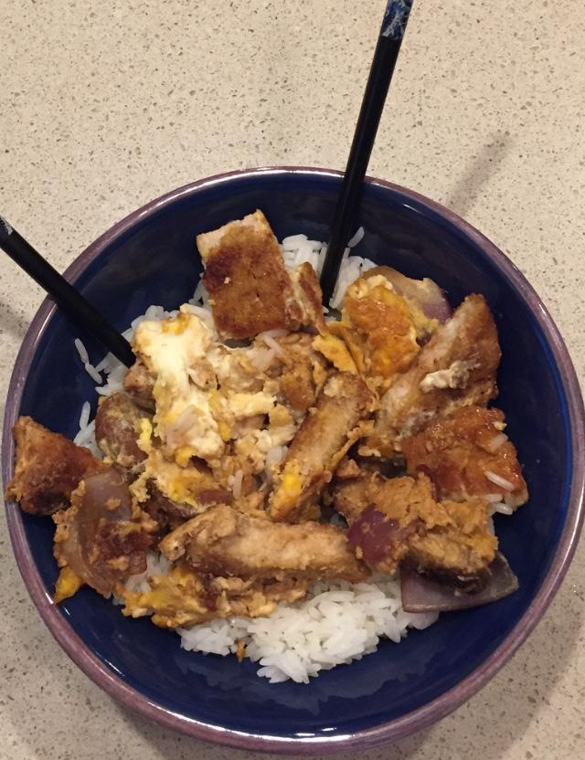 pork cutlet bowl